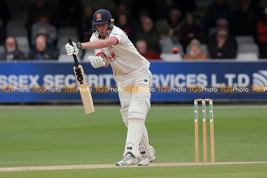 Daniel Lawrence in batting action for Essex during Essex CCC vs Kent CCC, Specsavers County Championship Division 1 Cricket at The Cloudfm County Ground on 29th May 2019