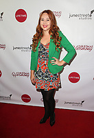 """LOS ANGELES, CA - NOVEMBER 7: Karenssa LeGear, at Premiere of Lifetime's """"Christmas Harmony"""" at Harmony Gold Theatre in Los Angeles, California on November 7, 2018. Credit: Faye Sadou/MediaPunch"""