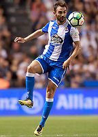 Deportivo de la Coruna's Adrian Lopez during La Liga match. August 20,2017.  *** Local Caption *** © pixathlon +++ tel. +49 - (040) - 22 63 02 60 - mail: info@pixathlon.de