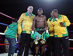 Nicolas Walters Vencio por KO tecnico  al Daulis Prescott en el asalto 6  asi quedando campeon de las 126 de la (AMB) Asociacion Mundial de Boxeo