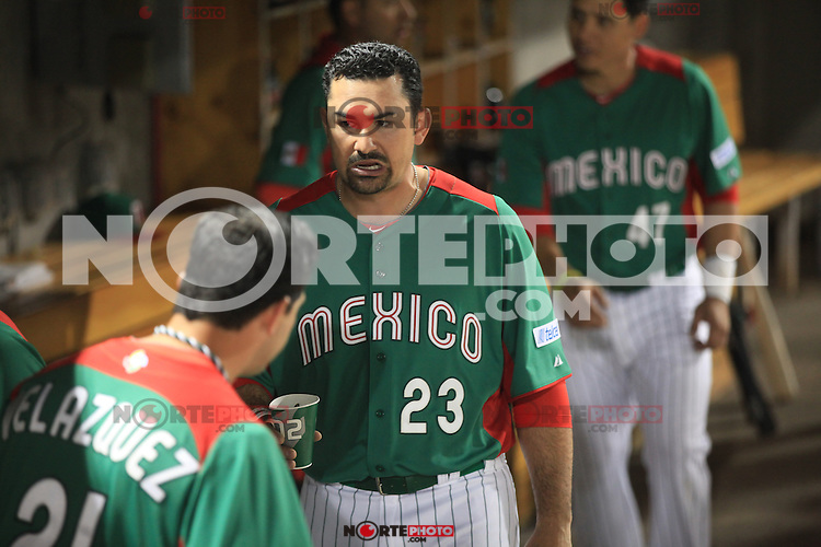 Adrian Gonzalez  of Mexico,   during Mexico vs. Arizona Diamondbacks game preparation, 2013 World Baseball Classic, Salt River Field Stadium in Scottsdale, Arizona, March 5, 2013..