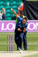 Mitch Claydon bowls for Kent during the Royal London One Day Cup game between Kent and Gloucestershire at the County Ground, Beckenham, on June 3, 2018