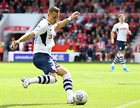 Preston North End's Billy Bodin in action<br /> <br /> Photographer David Shipman/CameraSport<br /> <br /> The EFL Sky Bet Championship - Nottingham Forest v Preston North End - Saturday 31st August 2019 - The City Ground - Nottingham<br /> <br /> World Copyright © 2019 CameraSport. All rights reserved. 43 Linden Ave. Countesthorpe. Leicester. England. LE8 5PG - Tel: +44 (0) 116 277 4147 - admin@camerasport.com - www.camerasport.com