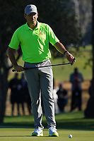 Sergio Garcia (ESP) In action during the final round of the The Genesis Invitational, Riviera Country Club, Pacific Palisades, Los Angeles, USA. 15/02/2020<br /> Picture: Golffile | Phil Inglis<br /> <br /> <br /> All photo usage must carry mandatory copyright credit (© Golffile | Phil Inglis)