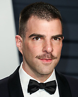 BEVERLY HILLS, CA - FEBRUARY 24: Zachary Quinto at the 2019 Vanity Fair Oscar Party at the Wallis Annenberg Center for the Performing Arts on February 24, 2019 in Beverly Hills, California. (Photo by Xavier Collin/PictureGroup)