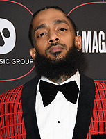 07 February 2019 - Los Angeles, California - Nipsy Hussle. 2019 Warner Music Group Pre-Grammy Celebration held at Nomad Hotel. Photo Credit: Birdie Thompson/AdMedia