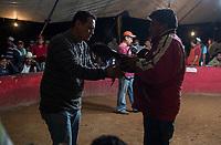 Cock fight (pelea de gallos) in Valle de Bravo, Estado de Mexico, Mexico