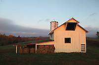 Old historical barn located in Albemarle County, Va.