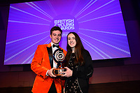 Picture by Simon Wilkinson/SWpix.com - 10/02/2018 - British Cycling Awards 2018 presentation and dinner - The Vox Conference Centre, Birmingham - Matthew Matt Walker ( orange jacket )