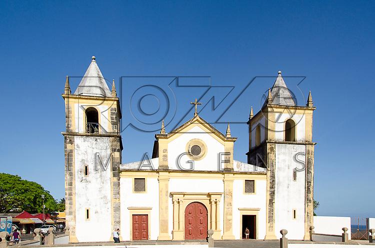 Igreja de São Salvador do Mundo no Largo da Sé - conhecida como Igreja da Sé, construção de 1548, Olinda - PE, 12/2012.
