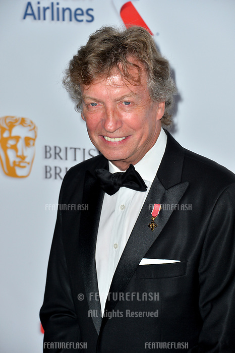 BEVERLY HILLS, CA. October 26, 2018: Nigel Lythgoe at the 2018 British Academy Britannia Awards at the Beverly Hilton Hotel.<br /> Picture: Paul Smith/Featureflash