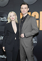 """NEW YORK, NEW YORK - FEBRUARY 13: Dove Cameron and Thomas Doherty attends the """"High Fidelity"""" New York Premiere at The Metrograph on February 13, 2020 in New York City.<br />    <br /> CAP/MPI/JP<br /> ©JP/MPI/Capital Pictures"""
