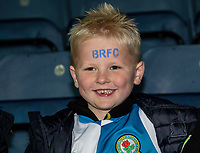 Blackburn Rovers' supporter<br /> <br /> Photographer Andrew Kearns/CameraSport<br /> <br /> The EFL Sky Bet Championship - Blackburn Rovers v Nottingham Forest - Tuesday 1st October 2019  - Ewood Park - Blackburn<br /> <br /> World Copyright © 2019 CameraSport. All rights reserved. 43 Linden Ave. Countesthorpe. Leicester. England. LE8 5PG - Tel: +44 (0) 116 277 4147 - admin@camerasport.com - www.camerasport.com
