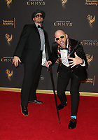 LOS ANGELES, CA - SEPTEMBER 09: Peter Shukoff, Lloyd Ahlquist, at the 2017 Creative Arts Emmy Awards at Microsoft Theater on September 9, 2017 in Los Angeles, California. <br /> CAP/MPIFS<br /> &copy;MPIFS/Capital Pictures
