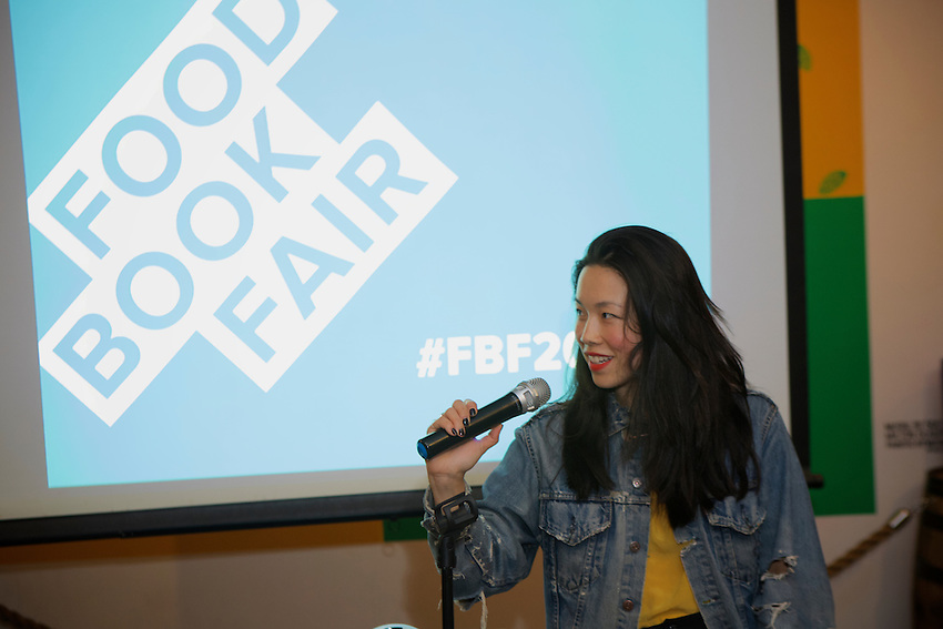 BROOKLYN, NY - May 2, 2016: The fifth annual Food Book Fair.<br /> <br /> CREDIT: Clay Williams for Food Book Fair.<br /> <br /> &copy; Clay Williams / claywilliamsphoto.com