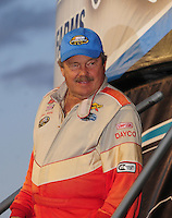 Apr 16, 2009; Avondale, AZ, USA; NASCAR Camping World Series West driver Jack Sellers prior to the Jimmie Johnson Foundation 150 at Phoenix International Raceway. Mandatory Credit: Mark J. Rebilas-