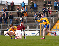 26th January 2020; TEG Cusack Park, Mullingar, Westmeath, Ireland; Allianz Football Division 2 Gaelic Football, Westmeath versus Clare; Gavin Cooney celebrates scoring a goal for Clare