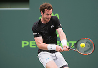 ANDY MURRAY (GBR)<br /> <br /> MIAMI OPEN, CRANDON PARK, KEY BISCAYNE, MIAMI, FLORIDA, USA<br /> <br /> &copy; AMN IMAGES