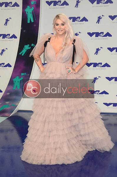 Kesha<br /> at the 2017 MTV Video Music Awards, The Forum, Inglewood, CA 08-27-17<br /> David Edwards/DailyCeleb.com 818-249-4998