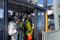 Seibahn, Station H&ouml;fatsblick auf dem Nebelhorn bei Oberstdorf im Allg&auml;u, Bayern, Deutschland<br /> Cable car Hillstation H&ouml;fatsblick,  Mt.Nebelhorn near Oberstdorf, Allg&auml;u, Bavaria, Germany