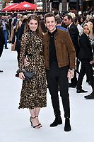 Georgia Horsley, Danny Jones<br /> King of Thieves world film premiere at Vue West End cinema, London, England on 12 September 2018.<br /> CAP/JOR<br /> &copy;JOR/Capital Pictures