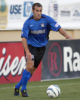 Brian Mullan in action during an MLS match between the San Jose Earthquakes and MetroStars on June 13, 2004 in San Jose, California.  San Jose defeated the MetroStars 3-1.