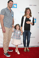 Brady Smith, Harper Renn Smith, Tiffani Thiessen<br />