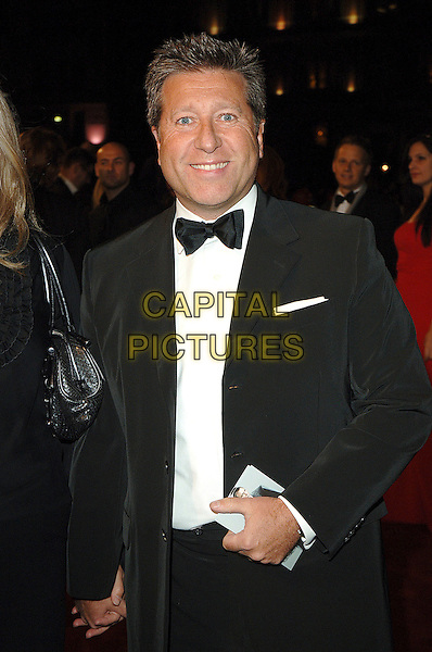 "NEIL FOX.The world premiere of ""Casino Royale"", Odeon Leicester Square, London, England..November 14th, 2007.james bond 007 half length black tuxedo jacket bow tie .CAP/BEL.©Belcher/Capital Pictures"