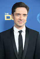 02 February 2019 - Hollywood, California - Topher Grace. 71st Annual Directors Guild Of America Awards held at The Ray Dolby Ballroom at Hollywood & Highland Center. Photo Credit: F. Sadou/AdMedia