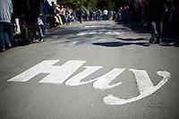 the infamous Mur de Huy (1300m/9.8%)<br /> <br /> Fl&egrave;che Wallonne 2016