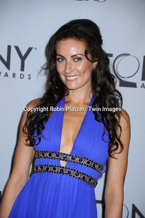 Laura Benanti attending the 65th Annual Tony Awards at The Beacon Theatre in New York City on June 12, 2011.