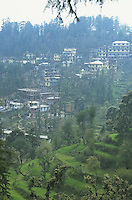 Overview of McLeod Ganj, the Tibetan community where the Dalai Lama lives.