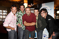 Jean Luc Brassard, Alain Dumas, Ghyslain Taschereau,  Patrice Belanger, Francois Etienne , , Pare,   pose at the launch of  Z TV fall 2006 Programmation, August 17 2006