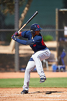 Cleveland Indians Erik Gonzalez (7) during an Instructional League game against the Los Angeles Dodgers on October 10, 2016 at the Camelback Ranch Complex in Glendale, Arizona.  (Mike Janes/Four Seam Images)