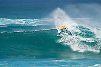 SUNSET BEACH, Oahu/Hawaii (Friday, December 5, 2014): Matt Wilkinson (AUS). The Vans World Cup of Surfing was  called ON this morning with competition begining with Round 4. <br /> A new NW 6 - 8 foot swell was on hand for the final which built through the day to 10 foot plus by the afternoon.<br /> Four island boys reached the final, three from the islands of Hawaii and one from the islands of tahiti. By the final hooter it was the Tahitian Michel Bourez (PYF) who emerged vitreous with Dusty Payne (HAW) 2nd, Sebastien Zietz (HAW) 3rd and Ian Walsh (HAW) 4th. Photo: joliphotos.com