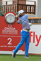 Johan Edfors (SWE) on the 11th on the 1st day of the Omega European Masters, Crans-Sur-Sierre, Crans Montana, Switzerland..Picture: Golffile/Fran Caffrey..