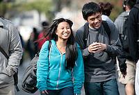 04072011 - Seattle University, Campus spring shots,