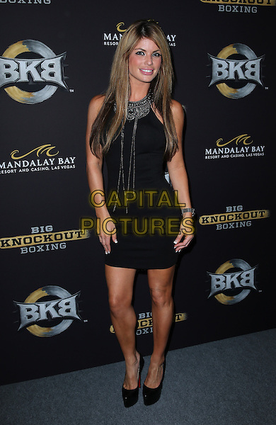 16 August 2014 - Las Vegas, Nevada - Laura Croft. Big Knockout Boxing Inaugural Event Celebrity Red Carpet at Mandalay Bay Events Center.   <br /> CAP/ADM/MJT<br /> &copy; MJT/AdMedia/Capital Pictures
