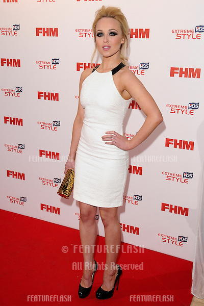 Jorgie Porter arriving for the FHM 100 Sexiest Women in the World 2013 party at the Sanderson Hotel, London. 01/05/2013 Picture by: Steve Vas / Featueflash
