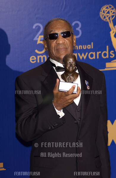 BILL COSBY at the 55th Annual Emmy Awards in Los Angeles..Sept 21, 2003