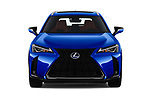 Car photography straight front view of a 2019 Lexus UX 250h-F-SPORT 5 Door SUV