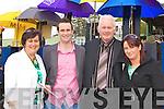 Bernie, Kieran Buckley, Sharon Clifford and Dio Buckley Faha enjoying the sunshine at the Killarney Races on Sunday