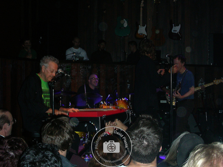 Ray Manzarek of the Doors in Las Vegas in 2009 , Robbie Krieger