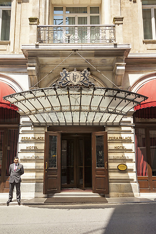 Pera Palace Hotel, Mesrutiyet Caddesi, Tepebasi, Beyoglu, Istanbul, Turkey  May 2015.<br /> CAP/MEL<br /> &copy;MEL/Capital Pictures /MediaPunch ***NORTH AND SOUTH AMERICA ONLY***