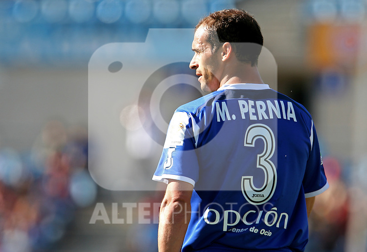 Getafe's Mariano Pernia during the Spanish La Liga match between Getafe CF and Villareal CF at Coliseum Alfonso Perez in Getafe. Sunday, April 30, 2006. (ALTERPHOTOS / ALVARO HERNANDEZ)
