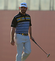 Louis Oosthuizen (RSA) during the 2nd round of the Abu Dhabi HSBC Championship, Abu Dhabi Golf Club, Abu Dhabi,  United Arab Emirates. 17/01/2020<br /> Picture: Oisin Keniry   Golffile<br /> <br /> <br /> All photo usage must carry mandatory copyright credit (© Golffile   Oisin Keniry)