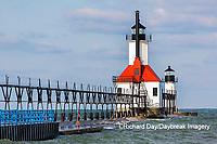 64795-02812 St. Joseph North Pier Lighthouses St. Joseph, MI