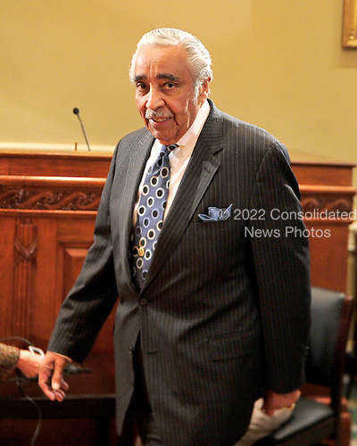 United States Representative Charles Rangel (Democrat of New York) arrives to hear the U.S. House Committee on Standards of Official Conduct announce he will be censured after his conviction on 11 of 13 ethics violations in Washington, D.C. on Thursday, November 18, 2010..Credit: Ron Sachs / CNP.(RESTRICTION: NO New York or New Jersey Newspapers or newspapers within a 75 mile radius of New York City)
