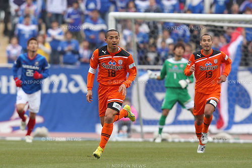 "(L to R) ..¬-ìL""ñ/Shinji Ono (S-Pulse), ..,OE´'¼'×/Naohiro Takahara (S-Pulse), ..FEBRUARY 20, 2011 - Football : ..SDT CUP2011 J League Pre-season Match ..between Shimizu S-Pulse 2-1 Yokohama FEMarinos ..at Ashitaka Athletic Park, Shizuoka, Japan. ..(Photo by YUTAKA/AFLO SPORT) [1040]"