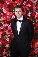 NEW YORK, NY - JUNE 10: Michael Cera at the 72nd Annual Tony Awards at Radio City Music Hall in New York City on June 10, 2018. <br /> CAP/MPI99<br /> &copy;MPI99/Capital Pictures